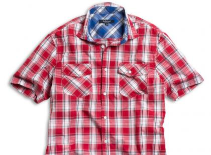 Męskie koszule KappAhl na wiosnę i lato 2011