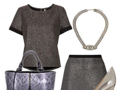 Metaliczne ubrania - jak je nosić?