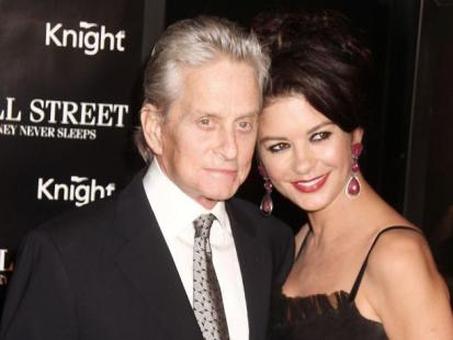 "Michael Douglas i Catherine Zeta-Jones na premierze ""Wall Street: Money Never Sleeps"""