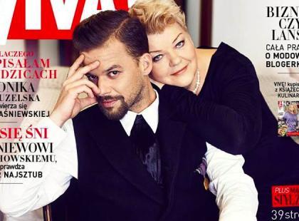 """Michał Piróg z mamą na okładce """"Vivy!"""""""