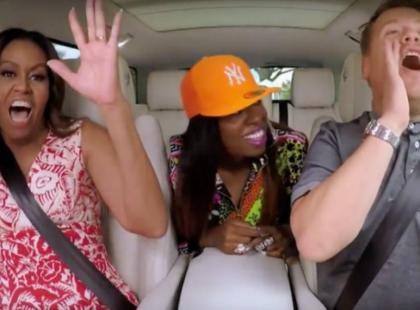 "Michelle Obama śpiewa ""Single Ladies"" Beyonce i rapuje z Missy Elliott!"