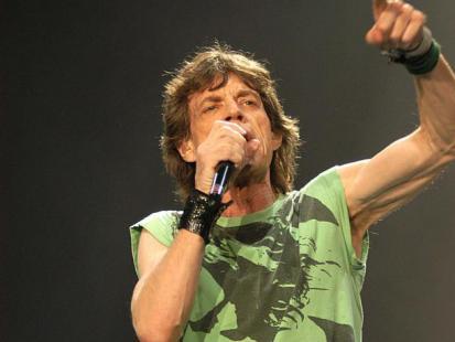 Mick Jagger - Król życia