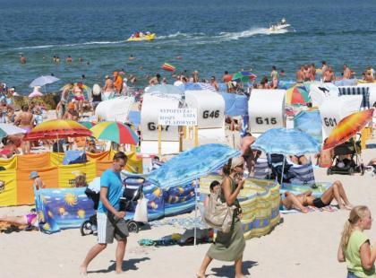 Mielno zaprasza na plażę