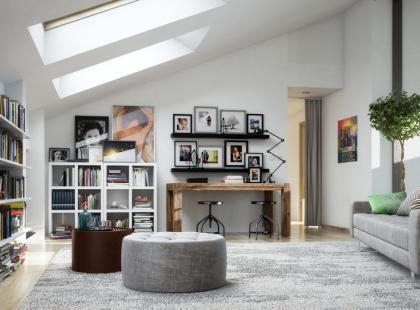 Mieszkania na poddaszu: wskazówki na temat ocieplenia oraz aranżacji sypialni i łazienki