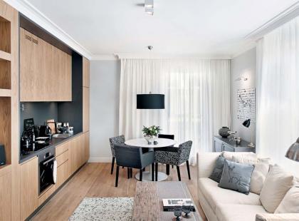 Mieszkanie w jasnych kolorach