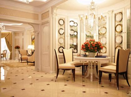 Mieszkanie w stylu Wielkiego Gatsby'ego
