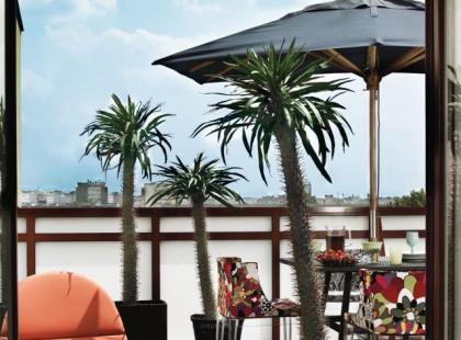 Mieszkanie z palmą