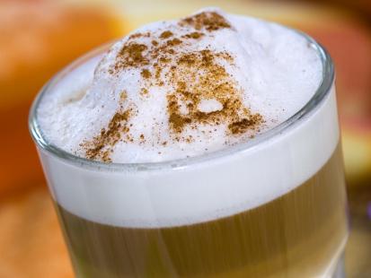 Migdałowa kawa mrożona