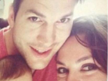 Mila Kunis i Ashton Kutcher pokazali córeczkę