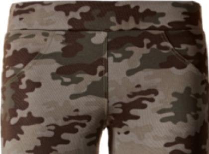 Militarne legginsy Calzedonia