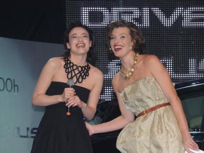 Milla Jovovich i polskie gwiazdy na Lexus Fashion Night