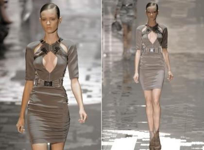 Mini sukienka - wiosna/lato 2010