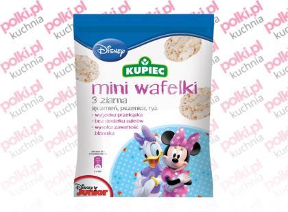 Mini Wafelki firmy Kupiec