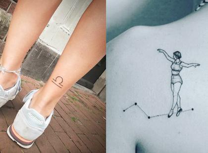 Minimalistyczne i superseksowne! Wzory tatuaży, które spodobają się każdej kobiecie
