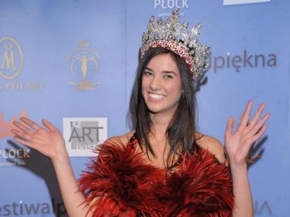 Miss Polski 2010 w sukni Evy Minge