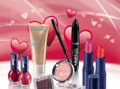 Miss Sporty - makijaż na Walentynki