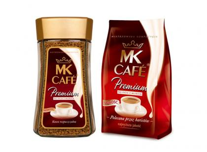 MK Cafe Premium do picia z mlekiem