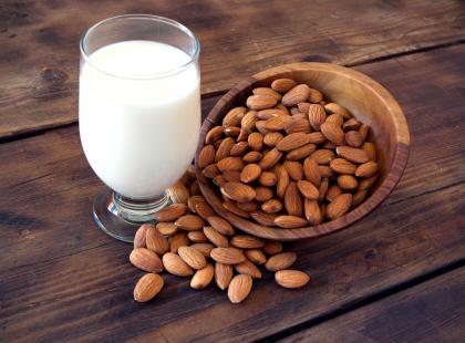Mleko migdałowe - walory zdrowotne
