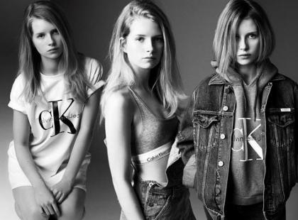 Młodsza siostra słynnej top modelki twarzą CK Jeans