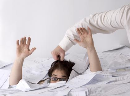 Mobbing w pracy najczęściej zdarza się w Europie