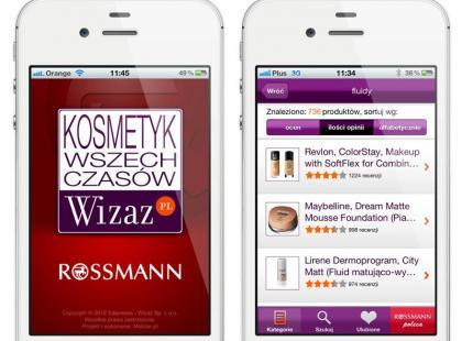 Mobilna aplikacja - Kosmetyk Wszech Czasów