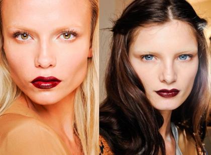 Mocne usta - instrukcja makijażu