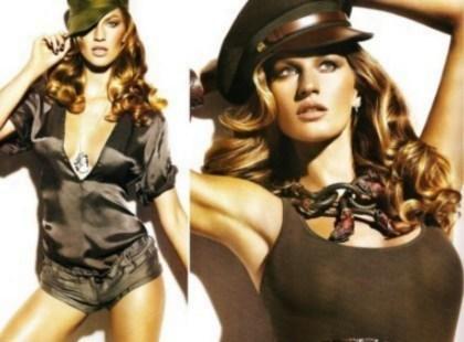 Moda militarna - najważniejsze trendy wiosna/lato 2010