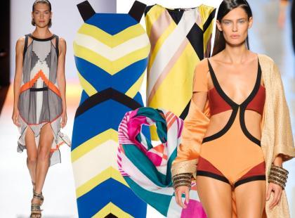 Moda na abstrakcję geometryczną