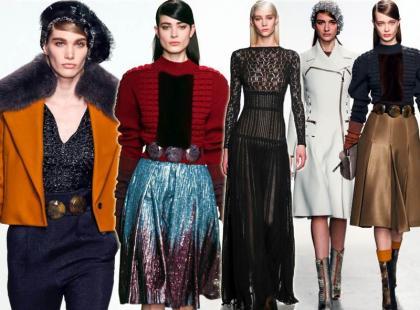 Moda na jesień 2014 według Johna Galliano