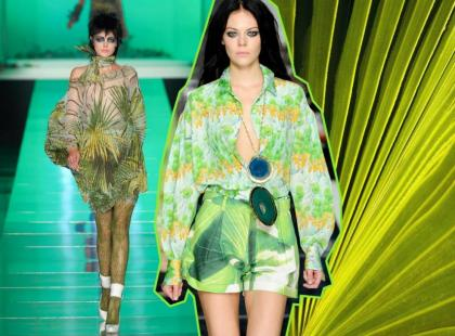 Moda na Lato 2011 - pod palmami
