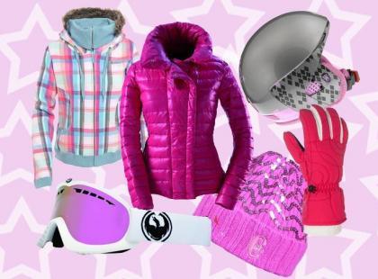 Moda na narty 2010/2011: Stok na różowo