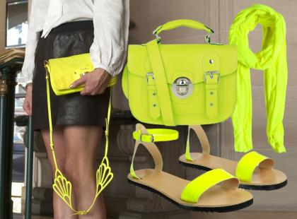 Moda na neonowe dodatki