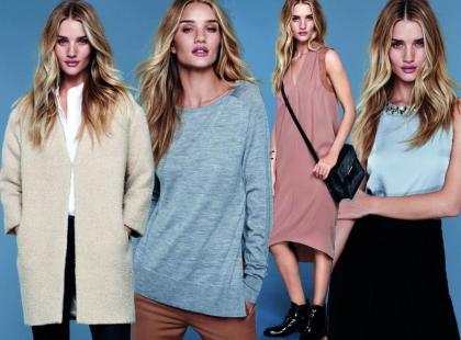Moda na przełom sezonów: Rosie Huntigton-Whiteley dla M&S