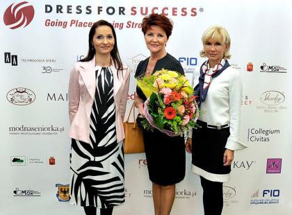 Moda na wolontariat - Dress for Success - relacja