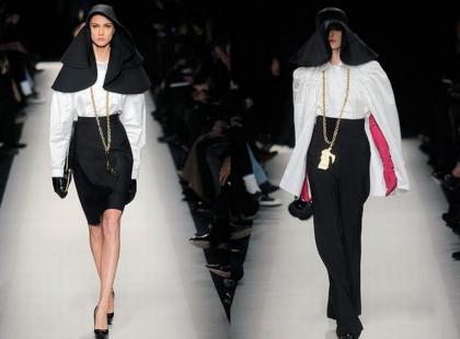 Moda na zakonnice - ekstremalne trendy na 2011 rok