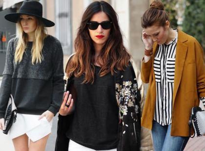 Moda uliczna według marki Zara na lato 2013