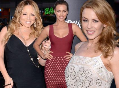 """Moda z Hollywood: Shayk, Minogue i Carey na premierze """"Herkulesa"""""""
