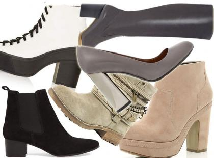 Modne buty na teraz: nowości vs. przeceny