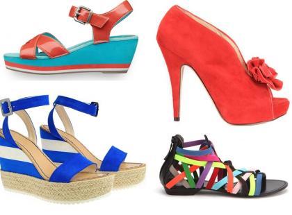 Modne buty na wiosnę i lato 2012