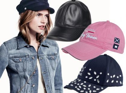 Modne czapki z daszkiem na lato 2013