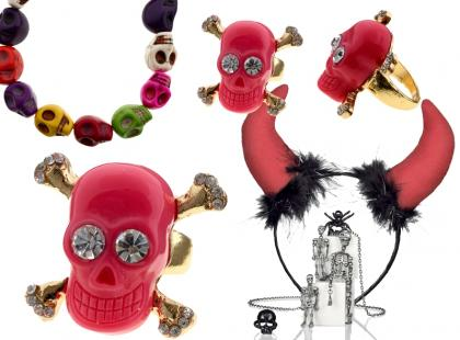 Modne dodatki marki Glitter na Halloween 2012