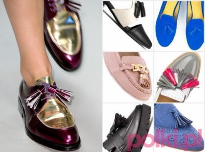 Modne frędzle przy butach!