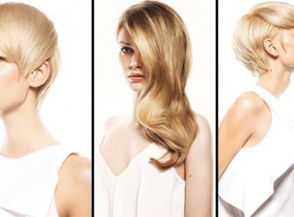 Modne fryzury blond na jesień 2014