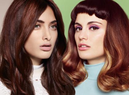 Modne fryzury dla brunetek