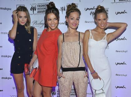 Modne gwiazdy na gali Fashion Designer Awards 2013