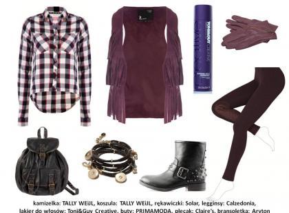 Modne kolory: burgund i szmaragd w stylizacjach