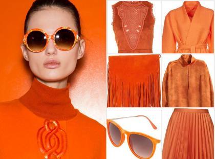 Modne kolory jesieni: stawiamy na energentyczny pomarańcz