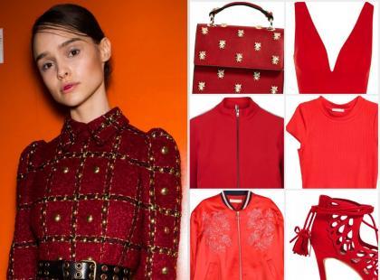 Modne kolory na jesień 2016: ognista czerwień