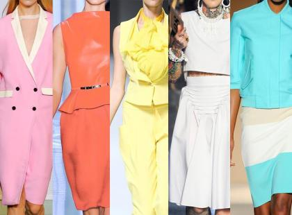 Modne kolory na wiosnę i lato 2012