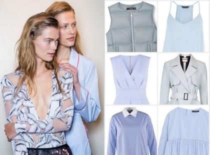Modne kolory wiosny 2016: romantyczny błękit